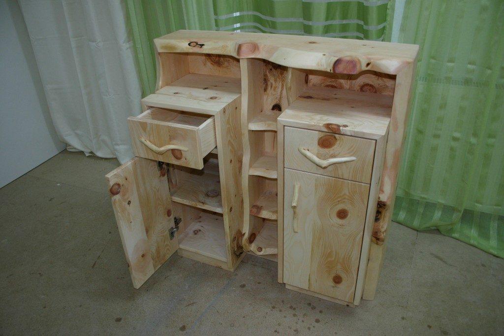 Zirben Holz Kommode Alpl