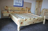 Zirben Bett Rustika Sulmsee