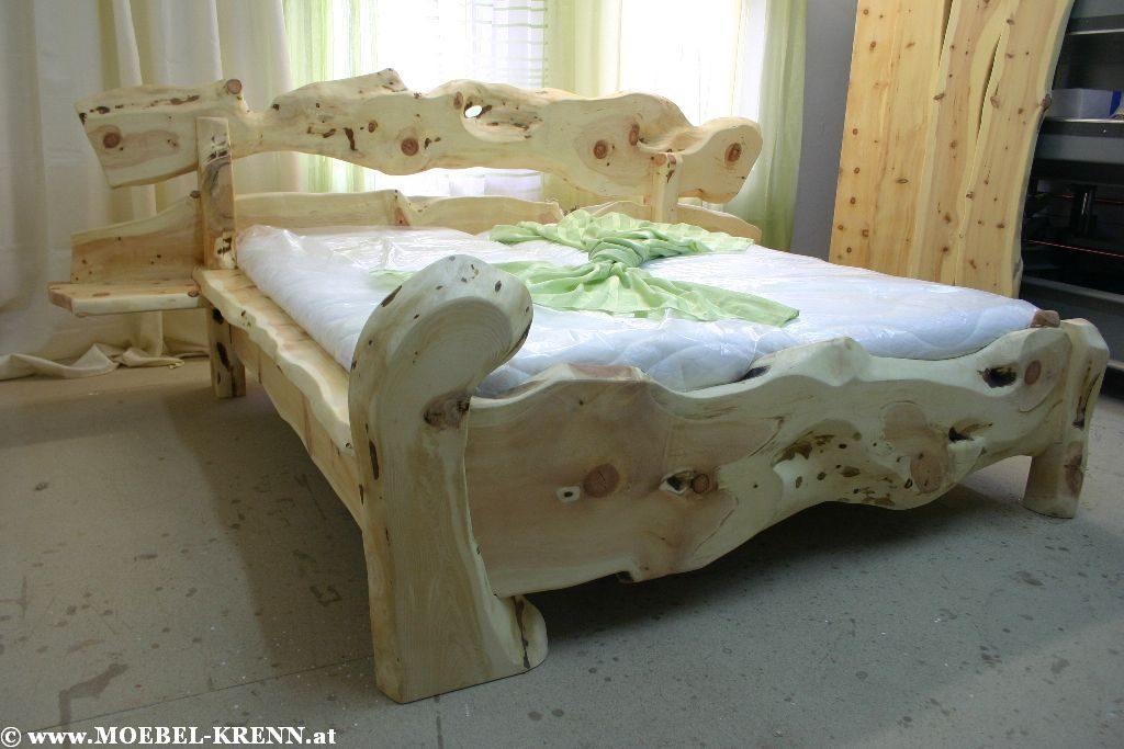 Massive Metallfreie Rustikale Zirben Betten kaufen