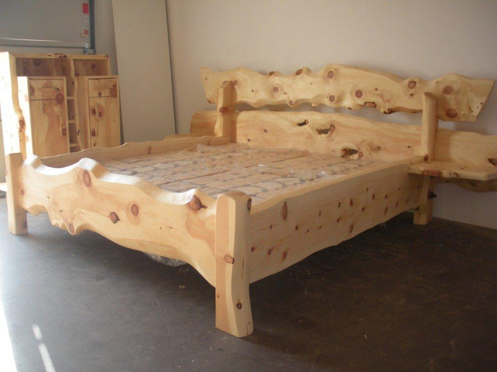 Rustikale Tischler Zirbenbetten beim Tischler Bestellen