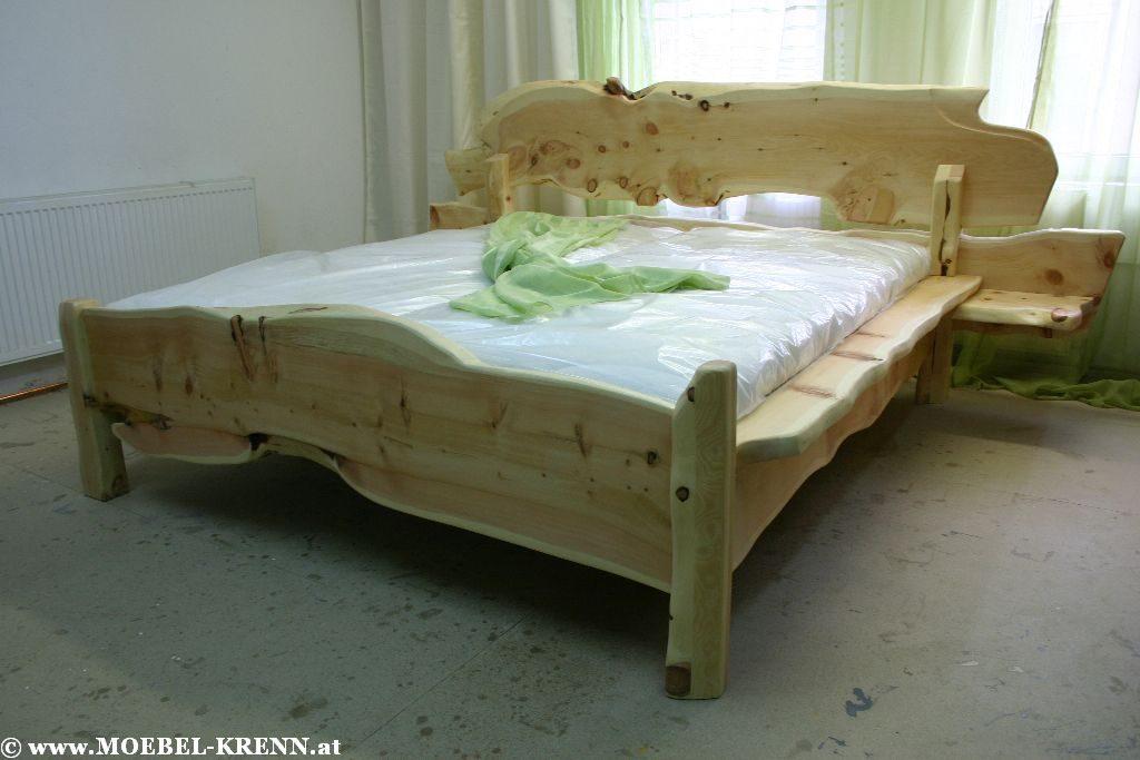 Zirben Bett Rustika Verbundenheit