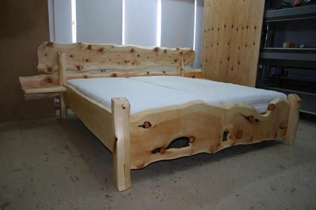 Zirbenholz Bett Rustika St. Ruprecht