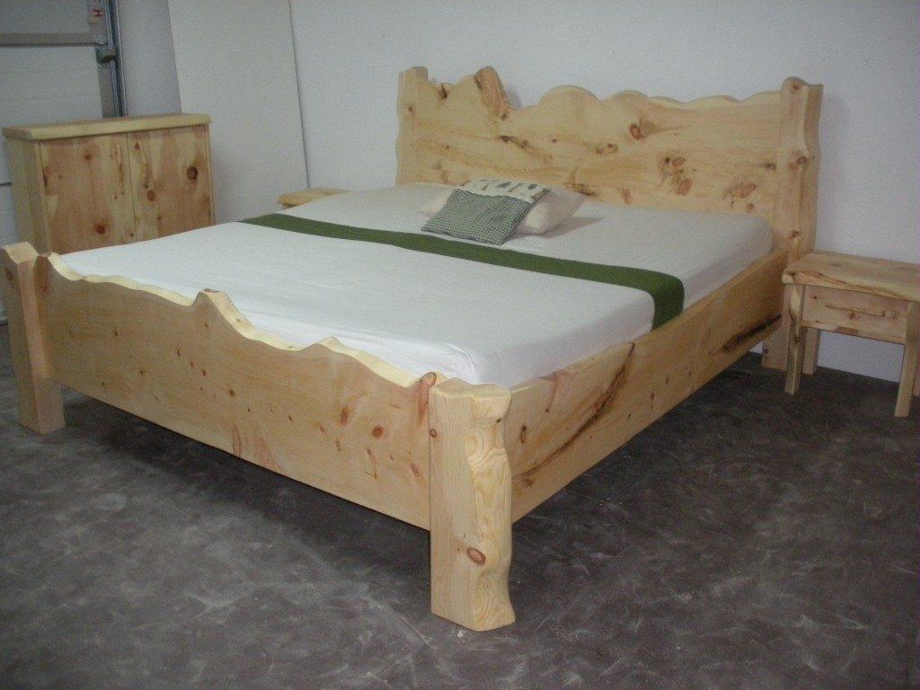 Zirbenholz Bett Tradition Großglockner