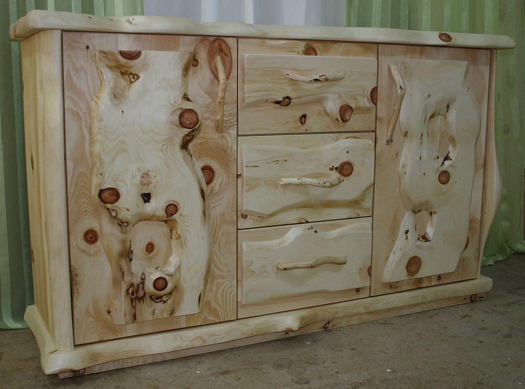 Zirben Holz Kommode Zirbenast der Tischlerei Möbel-Krenn aus ÖSTERREICH - Steiermark - WEIZ