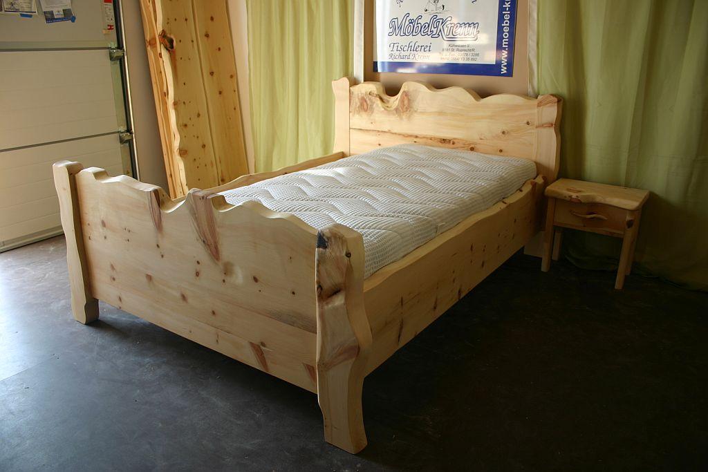 Arvenbett-Zirbenbett-Tradition-Sondergröße-140cm